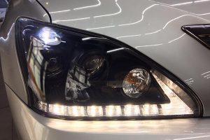 LED Head Lights After Installed