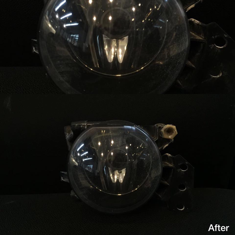 Fog Lamp Polish (After)