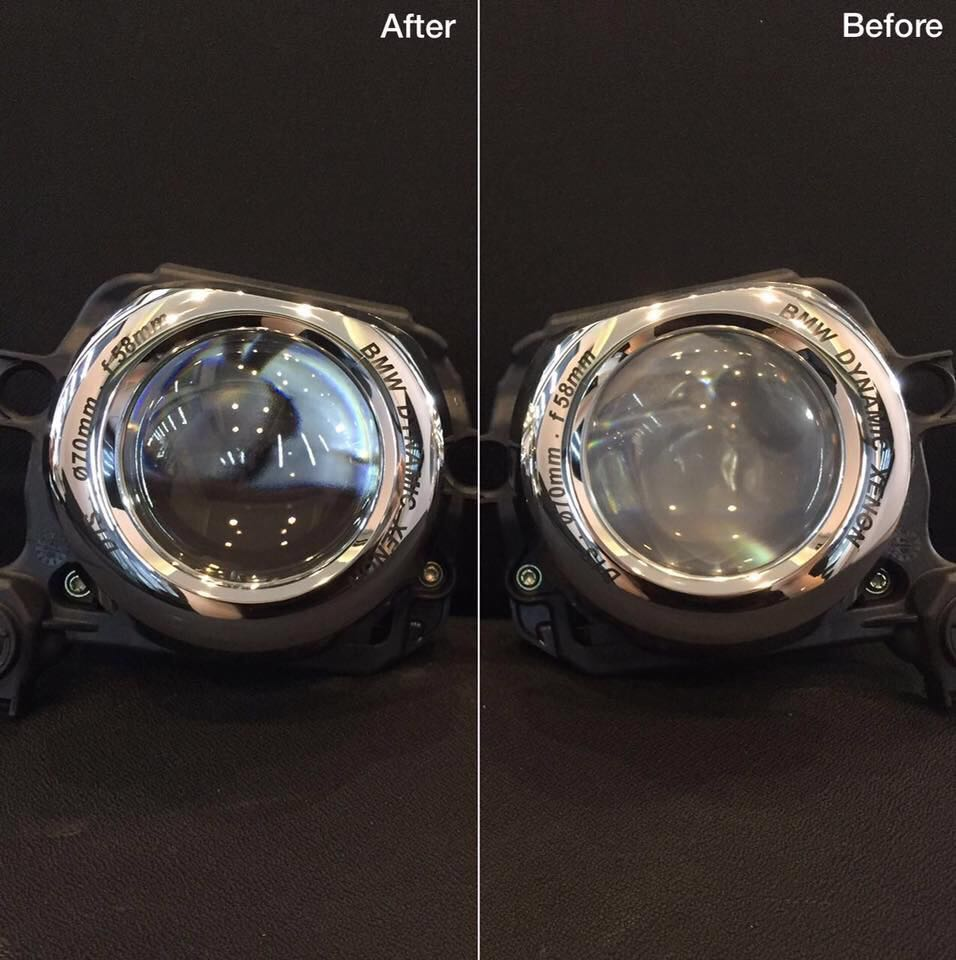 Projector Cleaning (Before & After)